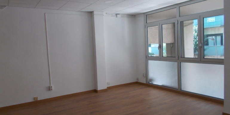 Sala principal desde entrada